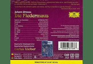 Carlos Kleiber, Lucia Popp, Hermann Prey - STRAUSS - DIE FLEDERMAUS (2CD+BLURA  - (CD + Blu-ray Audio)