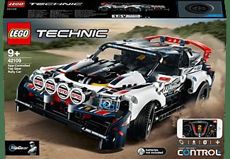 LEGO 42109 Top-Gear Ralleyauto mit App-Steuerung Bausatz, Mehrfarbig