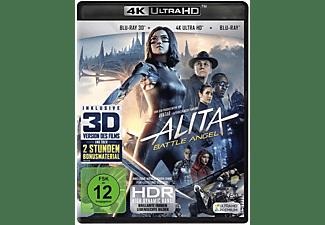 Alita - Battle Angel (4K Ultra HD) (+ Blu-ray 3D) (+ Blu-ray 2D) Blu-ray