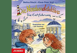 Wolf,Klaus-Peter/Göschl,Bettina - Die Nordseedetektive (7.) Die Entführung  - (CD)