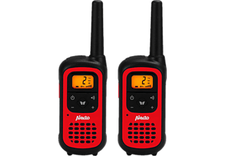 ALECTO FR-100RD - Talkie-walkie (Rouge/Noir)