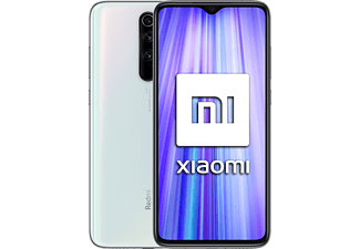 "Móvil - Xiaomi Redmi Note 8 Pro, Blanco, 128 GB, 6 GB RAM, 6.53"" Full HD+, Helio G90T, 4500 mAh, Android"