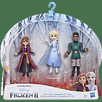 FROZEN Disney Die Eiskönigin Puppen 3er-Pack, inspiriert durch den Film Die Eiskönigin 2 Sammelfigurenspielset, Mehrfarbig