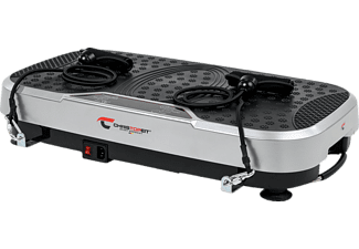 CHRISTOPEIT Vibro 3000 Vibrationstrainer, Silber/Schwarz