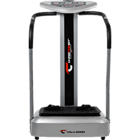 CHRISTOPEIT Vibro 5000 Vibrationstrainer, Silber/Schwarz