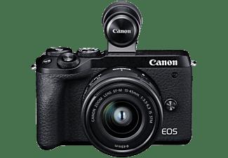 CANON Hybride camera EOS M6 + 15-45 mm + Viseur EVF-DC2