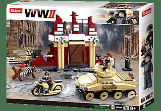 SLUBAN WWII - Kampf um Stalingrad (479 Teile) Konstruktionsspielzeug, Mehrfarbig