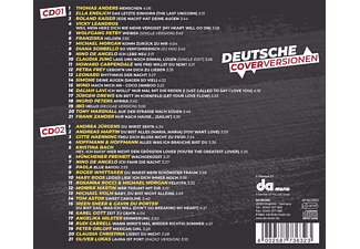 VARIOUS - DEUTSCHE COVERVERSIONEN  - (CD)