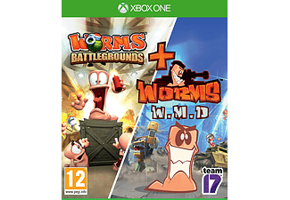Xbox One - Worms Battlegrounds + Worms W.M.D /D