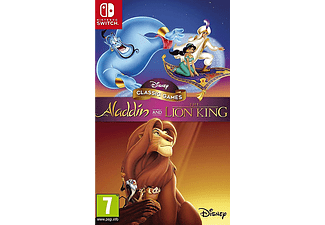 Switch - Disney Classic Games: Aladdin and The Lion King /D