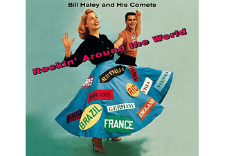 Bill Haley & His Comets - Rockin' Around The World+Haley's Juke Box+6 B  - (CD)