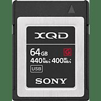 SONY G64F, XQD Speicherkarte, 64 GB, 440 MB/s