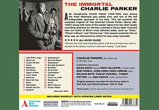 Charlie Parker - The Immortal+15 Bonus Tracks!  - (CD)