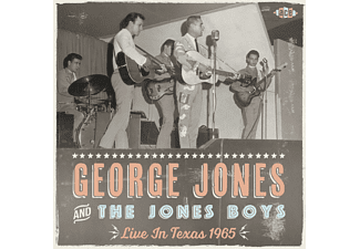 George Jones and the Jones Boys - Live In Texas 1965  - (CD)