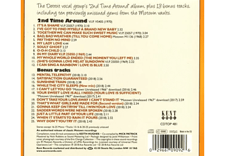 The Spinners - While The City Sleeps-2nd Motown Album (+Bonus)  - (CD)