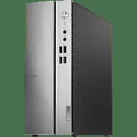LENOVO IdeaCentre 510S, Desktop PC, Core™ i3 Prozessor, 8 GB RAM, 1 TB HDD, Intel UHD-Grafik 630, Schwarz/Silber
