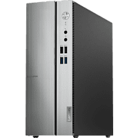 LENOVO IdeaCentre 510S, Desktop PC mit Core™ i3 Prozessor, 8 GB RAM, 128 GB SSD, 1 TB HDD, Intel UHD-Grafik 630