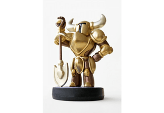 Figura - Nintendo Amiibo,  Shovel Knight Gold, Nintendo 3DS