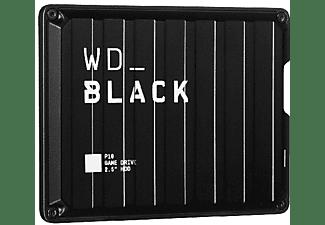 Disco duro externo 2 TB - WD_Black P10 Game Drive, Portátil, Compatible con PC y Consolas, HDD, USB 3.2, Negro