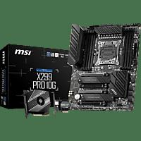 MSI X299 PRO 10G Mainboard Mehrfarbig