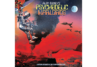 Alan Davey's Psychedelic Warlords - Captain Lockheed And..  - (Vinyl)
