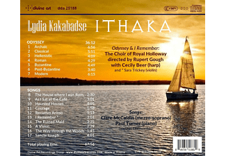 Choir Of Royal Holloway - Ithaka-Choral and Vocal works  - (CD)