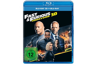 Fast & Furious – Hobbs & Shaw 3D Blu-ray (+2D)