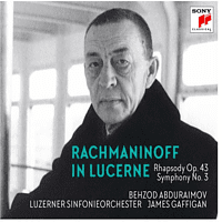 Behzod Abduraimov, Luzerner Sinfonieorchester, James Gaffigan - RACHMANINOFF IN LUCERNE - RHAPSODY ON A THEME OF P  - (CD)