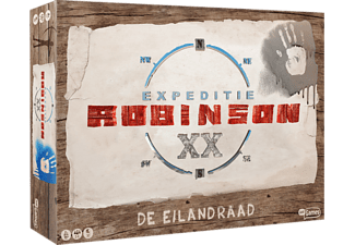 JUST FORMATS Expeditie Robinson - De Eilandraad - Bordspel