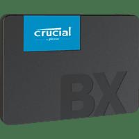 CRUCIAL BX500 Festplatte, 1 TB, SSD, 2,5 Zoll, intern