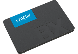 CRUCIAL BX500 Festplatte, 2 TB SSD SATA 6 Gbps, 2,5 Zoll, intern