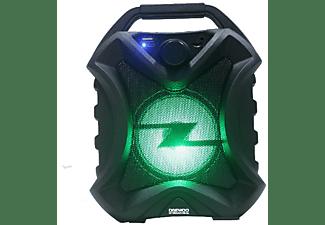 Altavoz inalámbrico - Daewoo DBT-33, Bluetooth, Autonomía 6 horas, 8 W, Luces disco LED, Radio, USB, Negro