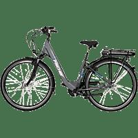 FISCHER ECU 1401-S1 Citybike (28 Zoll, 44 cm, 522 Wh, Anthrazit matt)