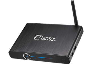 FANTEC 4KS6000 Media Player, Schwarz