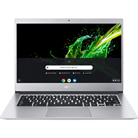 ACER Chromebook 514 (CB514-1HT-P1BM), Chromebook mit 14 Zoll Display, Pentium® Prozessor, 8 GB RAM, 64 GB eMMC, Intel® HD-Grafik 505, Silber