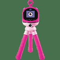 VTECH Kidizoom FLIX Spielzeugkamera mit Stativ, Pink