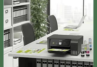 Impresora multifunción - Epson EcoTank ET-2721, 3 en 1 WLAN, Wi-Fi, 10 ppm, 5760 x1440 ppp, Negro