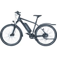 FISCHER TERRA 2.0-S1 Mountainbike (27.5 Zoll, 48 cm, 422 Wh, Schwarz matt)