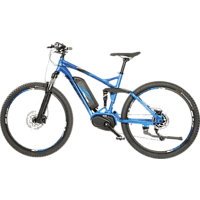 FISCHER EM 1862.1-S2 Mountainbike (27.5 Zoll, 48 cm, 557 Wh, Blau matt)