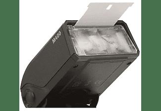Flash - Metz Mecablitz M400 para Canon, Pantalla LC, Reflector abatible/giratorio, Negro