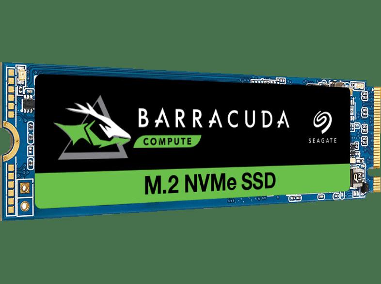 SEAGATE BarraCuda Festplatte Retail, 500 GB SSD, NAND Flash PCI Express, intern