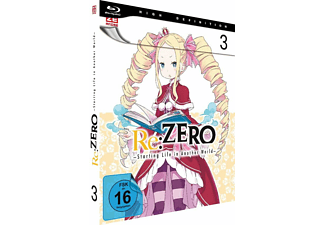 re:ZERO - Starting Life in Another World - Vol. 3 - Ep. 11-15 Blu-ray