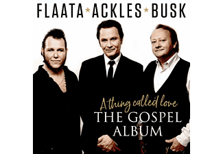 Paal Flaata, Vida Busk, Stephan Ackles - A Thing Called Love-The Gospel Album  - (CD)