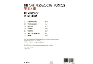 The Gritness Acoustronics - Mahakali  - (CD)
