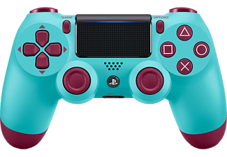 PLAYSTATION Manette sans fil PS4 Dualshock 4 V2 Berry Blue (9718611)