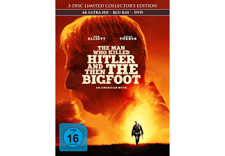 The Man Who Killed Hitler and then the Bigfoot 4K Ultra HD Blu-ray + Blu-ray + DVD
