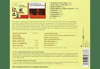 John Coltrane, Al Cohn, Zoot Sims, Hank Mobley - Tenor Conclave  - (CD)