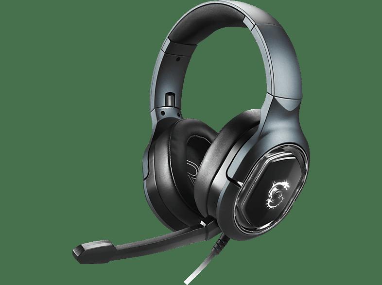 MSI GH50, Over-ear Gaming Headset Schwarz