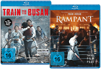 TRAIN TO BUSAN/RAMPANT (LTD.) Blu-ray