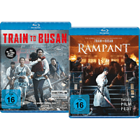 TRAIN TO BUSAN/RAMPANT (LTD.) [Blu-ray]